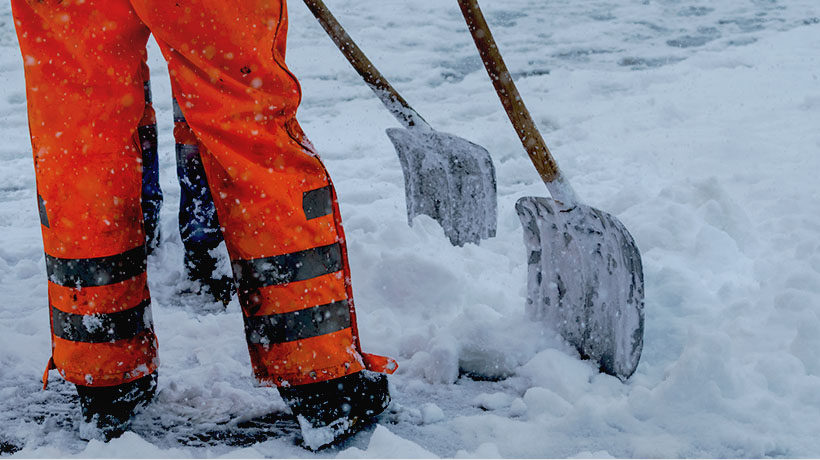3 ways to prevent winter slips and falls